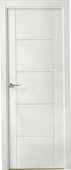 Puertas blancas serie 1000 puertas blancas lacadas for Puertas de paso blancas